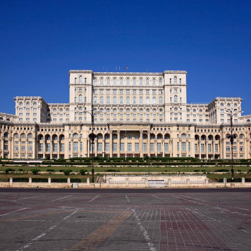 Le palais du Parlement, Bucarest