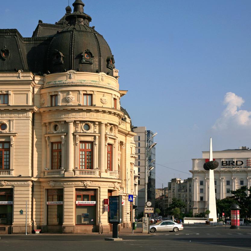 Le square de la Révolution, Bucarest
