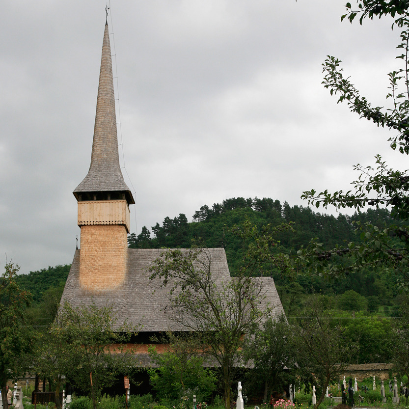 Eglise de Rozavlea (Maramures)