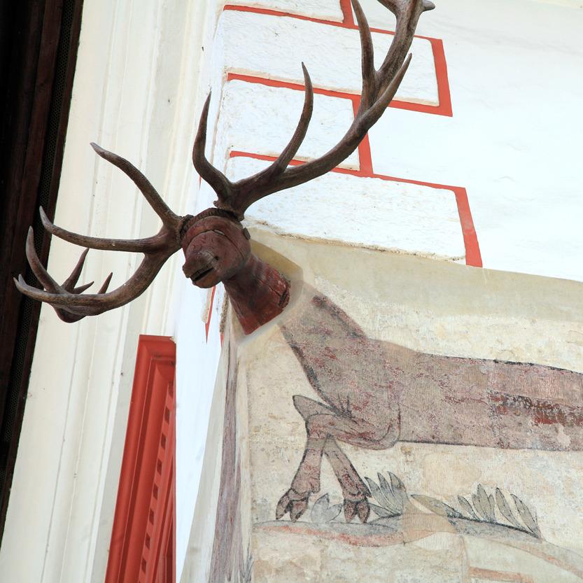 La Maison au cerf, Sighisoara