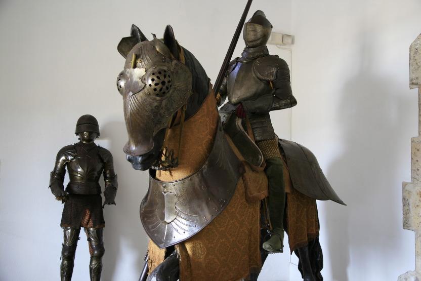 Armures dans le Musée / Palais du Vice-roi Diego Colomb