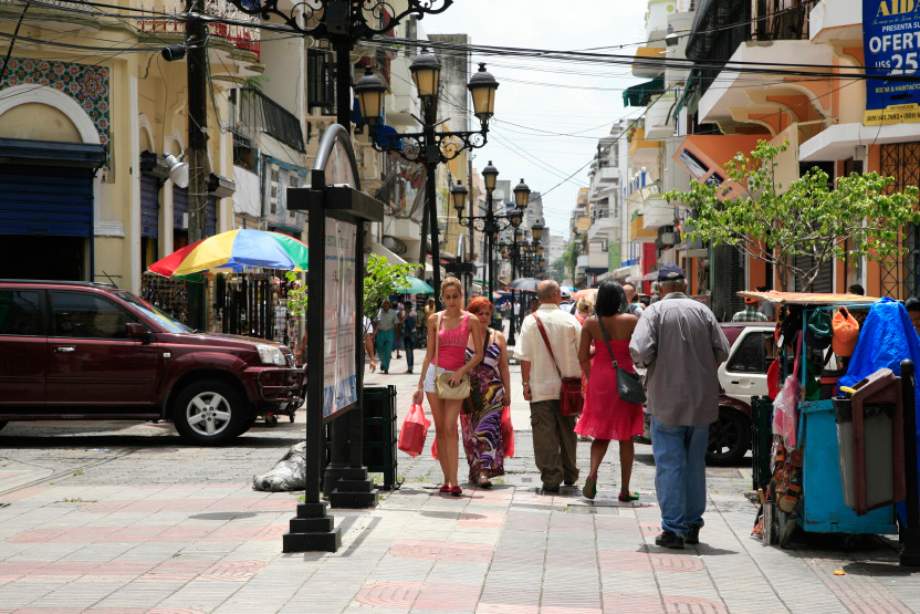 Rue El Conde, Zone coloniale, Santo Domingo