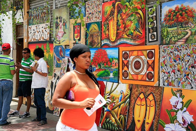 Calle El Conde, Zone coloniale de Santo Domingo