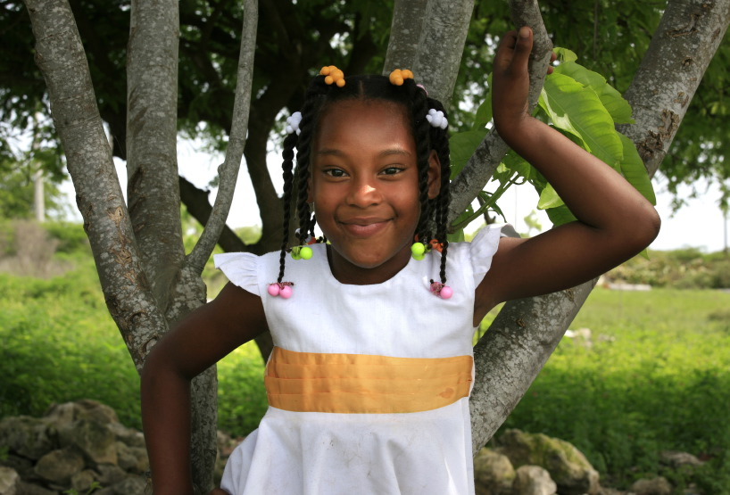 Enfant sur l'île Saona