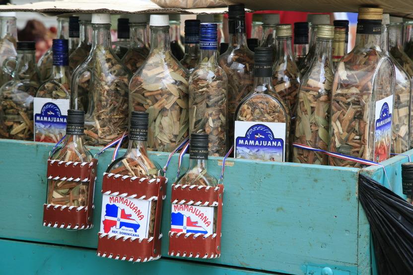 Herbes de Mamajuana au marché de Higüey