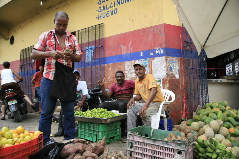 Au marché de Higüey