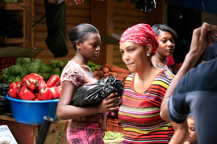Sur le marché de Higüey