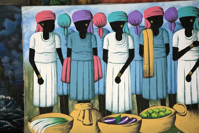 Peintures typiques des Antilles
