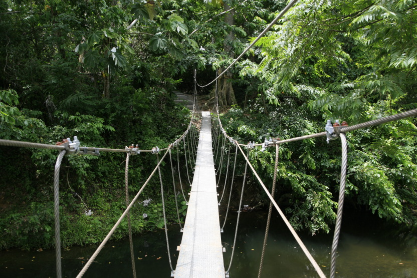 Canopy Adventure, près d'Anamuya