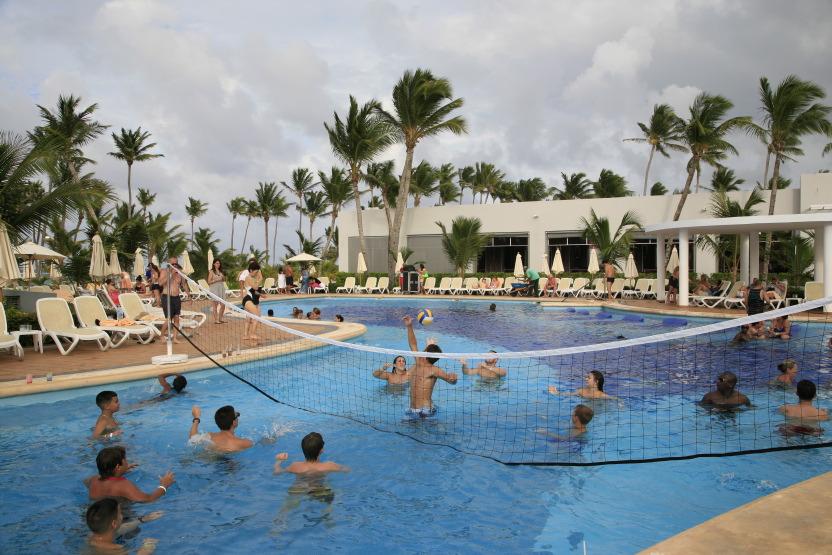 Riu Resorts: convivial, même à l'eau !