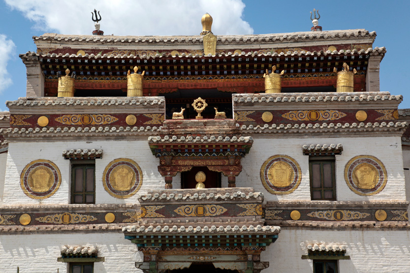Le monastère d'Erdene Zuu