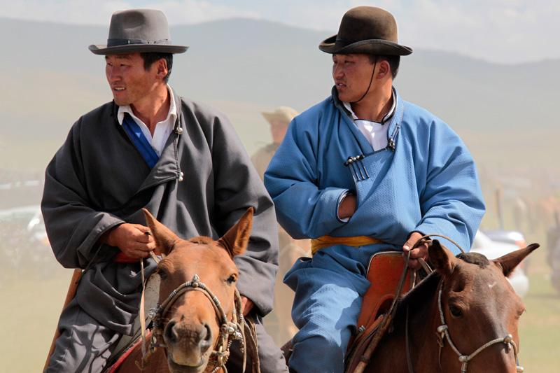 Les routes du Naadam