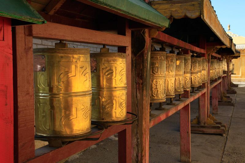 UB, moulins à prière de Gandan