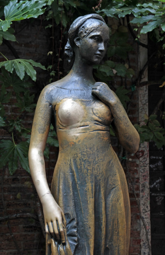 La statue de Juliette, Vérone