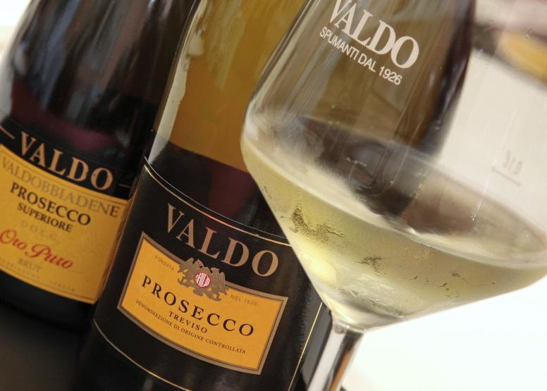 Parmi les plus jolies bulles de Prosecco... Valdo !