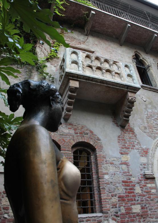 Le balcon de la Casa di Giulietta