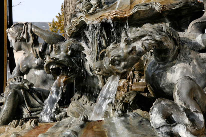 Fontaine amphitrite, Place Stanislas, Nancy