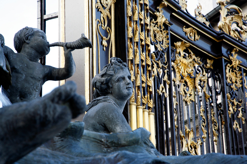Fontaine amphitrite, Place Stanislas, Nancy