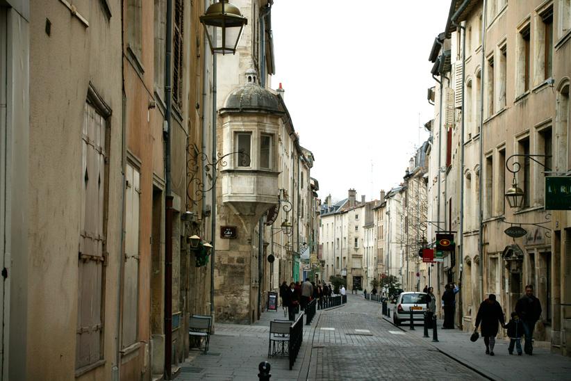'Grande Rue' : Nancy médiévale