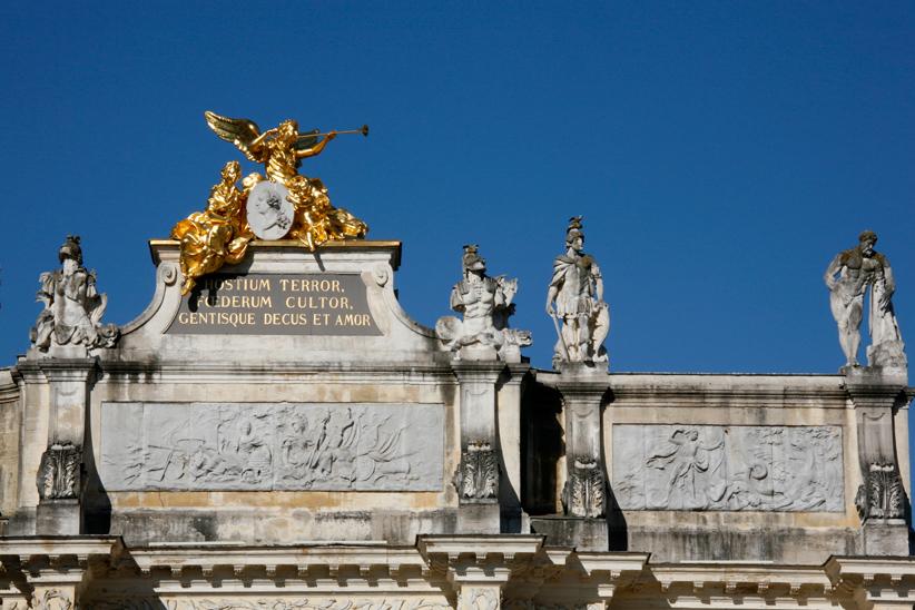 Arche de triomphe Héré sur place Stanislas