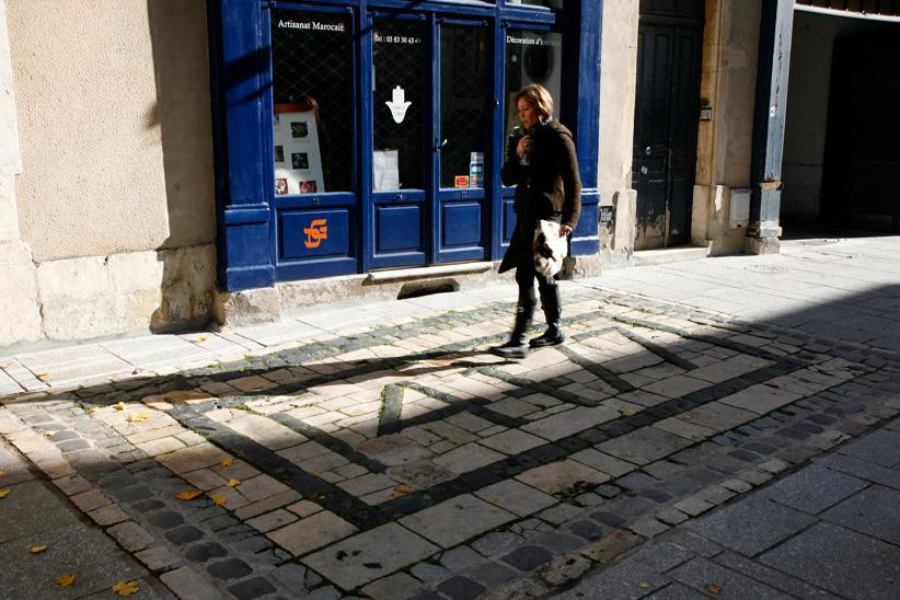 Pavés 1477 le long de Grande Rue, Nancy