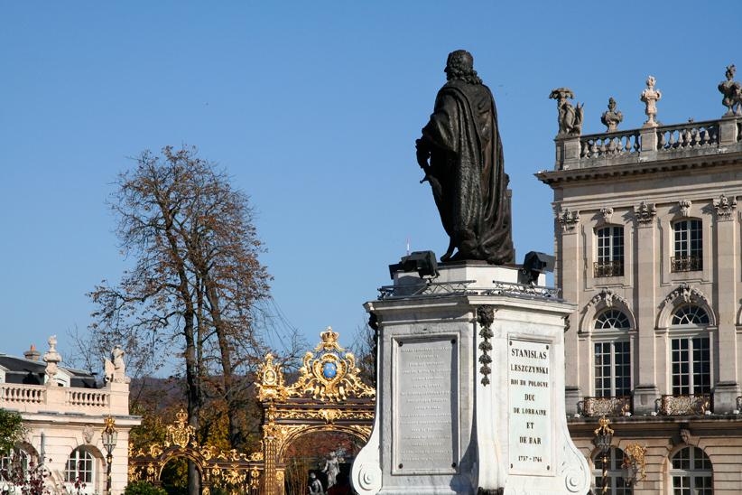 Statue de Stanislas, place Stanislas, Nancy