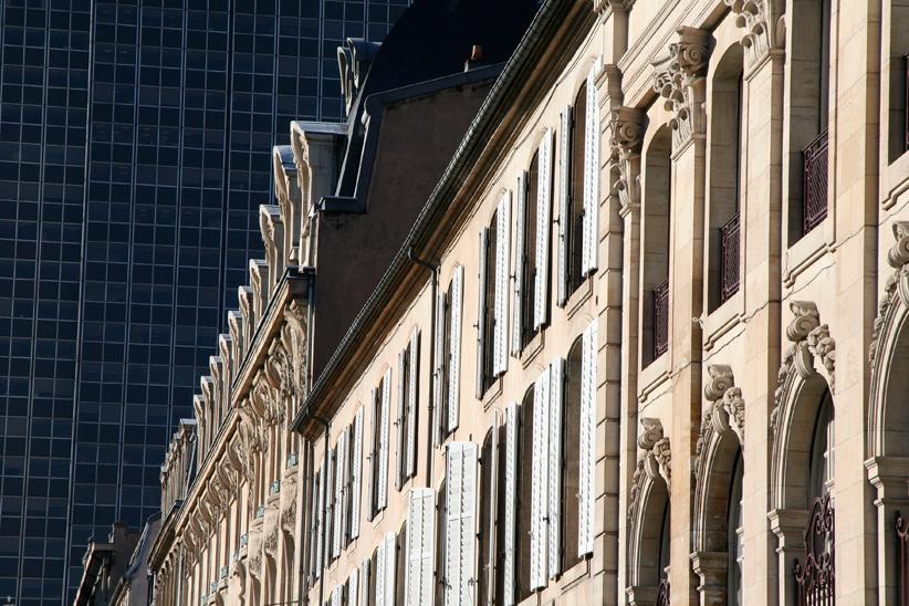 Contrastes le long de la rue Stanislas