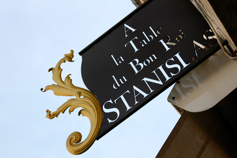 Restaurant 'A la table du bon roi Stanislas'