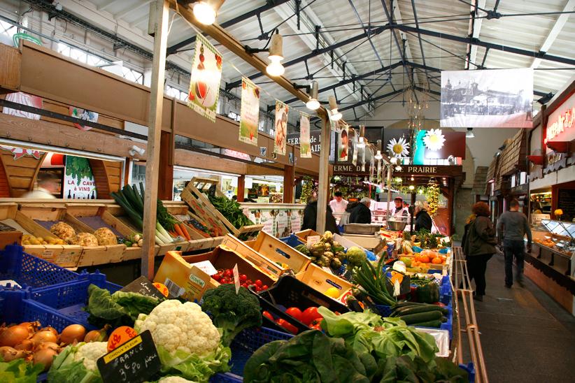 Au marché central, Nancy