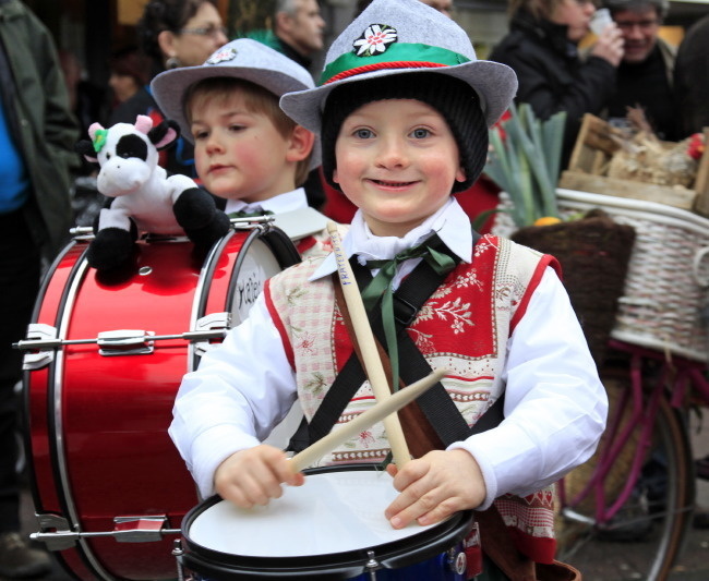 Tyrolien au tambour