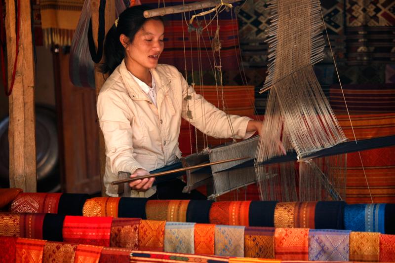 Ban Xang Hai (lao-lao) village