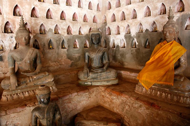 Vientiane, Wat Si Saket