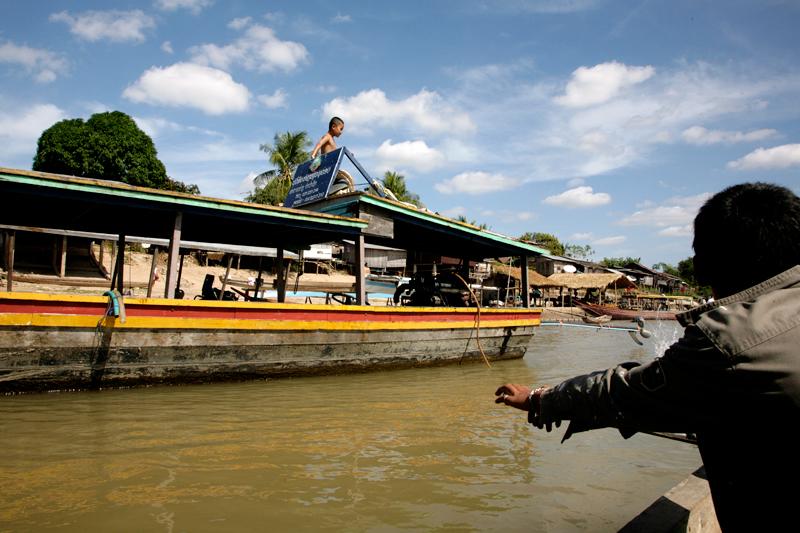 Ferry pour Don Det (4000 îles)