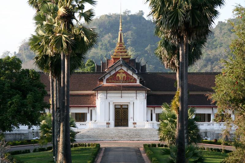 Ancien palais royal (musée) à Luang Prabang