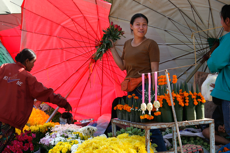 Vientiane, Talat Sao Market
