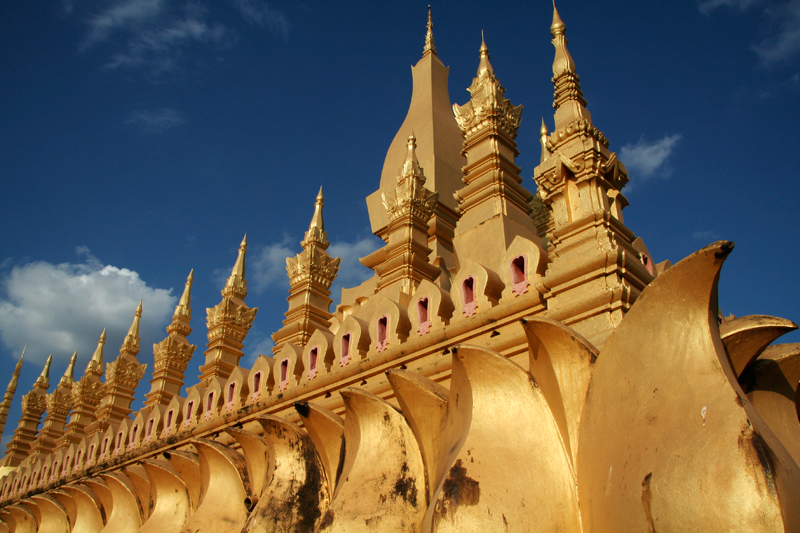Pha That Luang, le grand stupa sacré (Vientiane)