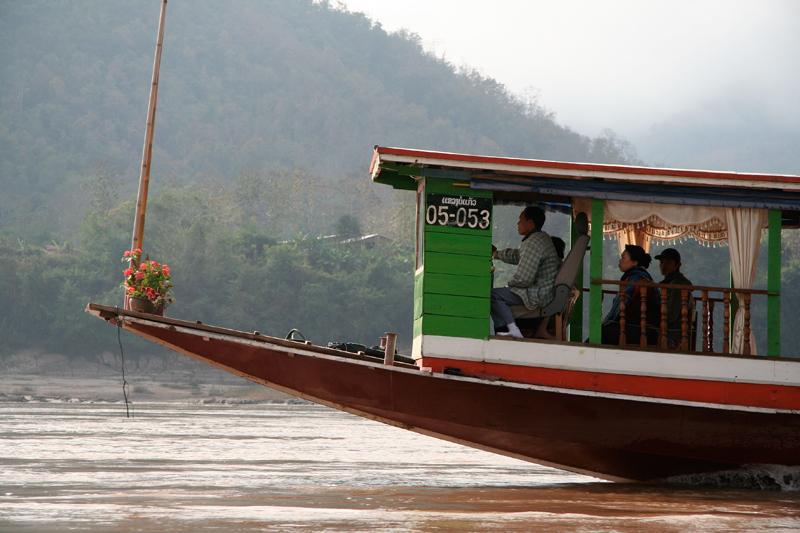 Le Mékong... En route vers le nord-ouest