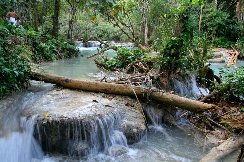 Les chutes de Tat Kuang Si