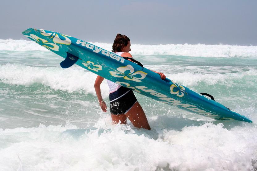 Stéphanie Barneix et son paddleboard