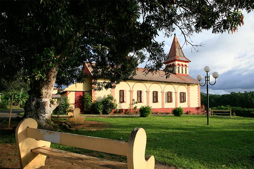 L'église de Roura