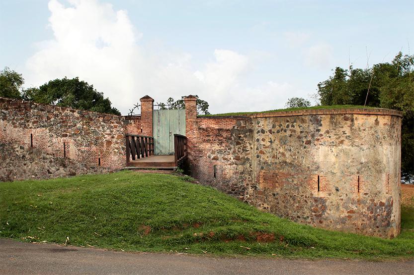 Le Fort Diamant à Rémire Montjoly