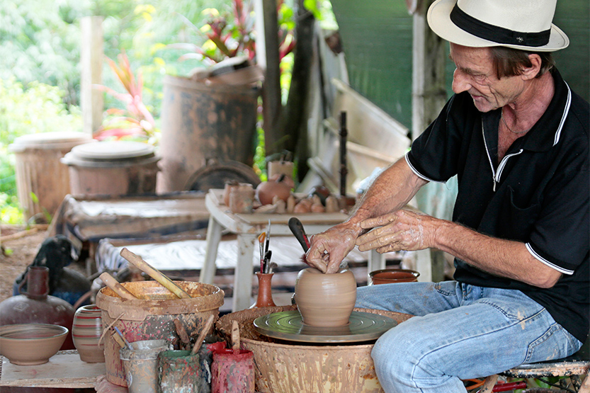 Jean-Philippe, le potier de Cacao