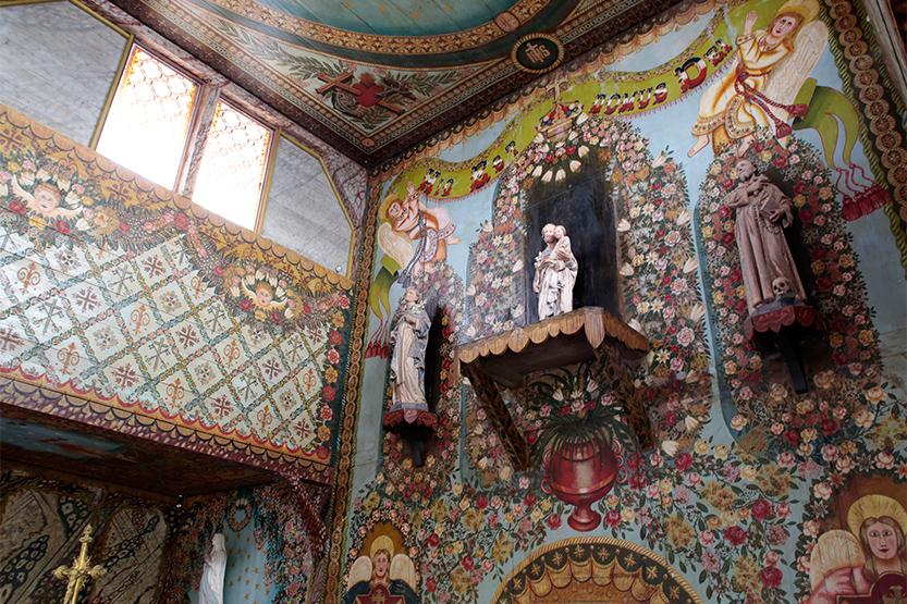Eglise Saint-Joseph d'Iracoubo (peinte par un ancien bagnard)