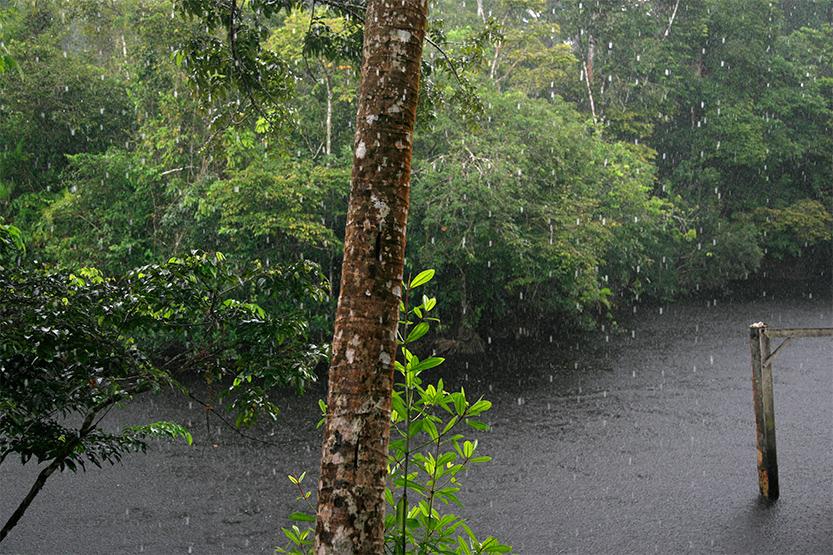Pluies intenses et brèves à Wayki village