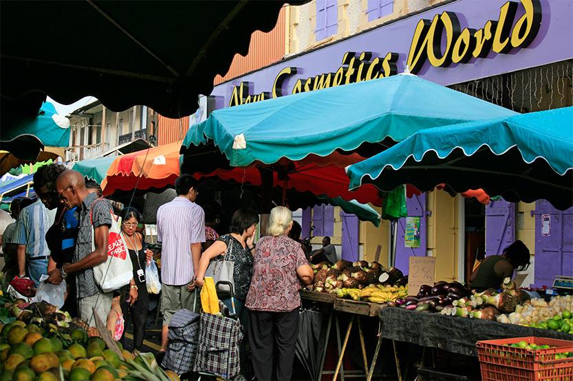 Le grand marché de Cayenne