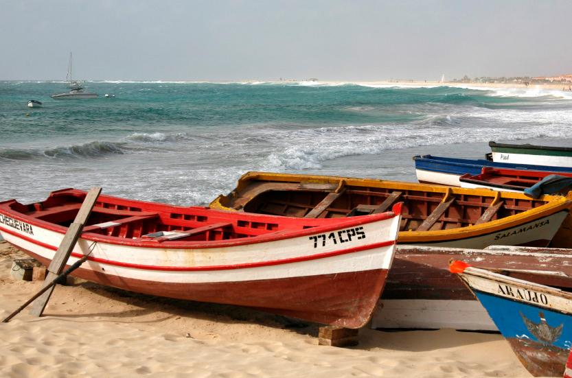 Barques de pêcheurs, Santa Maria