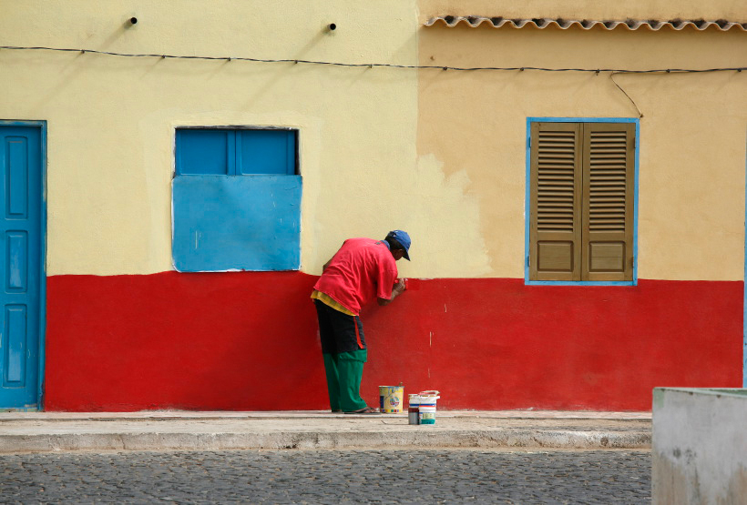 Peintre à la Palmeira