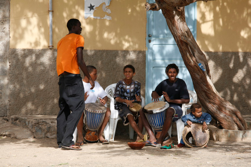 Musiciens de rue à la Palmeira
