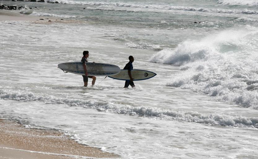 Les chevaucheurs de vague
