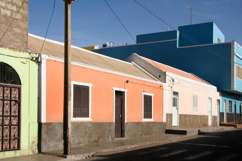 Maisons pastel d'Espargos